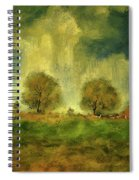 Approaching Storm At Antietam Spiral Notebook