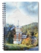 Approaching The Homestead Spiral Notebook