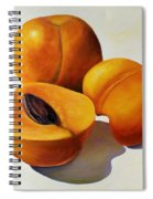 Apricots Spiral Notebook