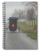 April Afternoon Buggy Ride Spiral Notebook