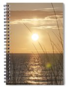 April Beach Spiral Notebook
