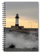 April Gales Spiral Notebook