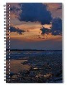 April Icy Niagara Spiral Notebook