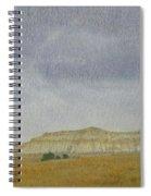 April In The Badlands Spiral Notebook