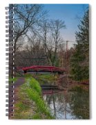 April In Washingtons Crossing Spiral Notebook