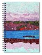 April Sunrise Singleton Spiral Notebook