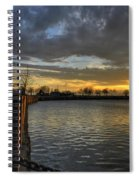 April Sunsets Spiral Notebook