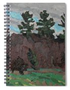 April White Pine Forest Spiral Notebook
