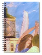 Aprils Flying  Spiral Notebook