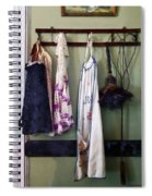 Aprons And Feather Duster Spiral Notebook