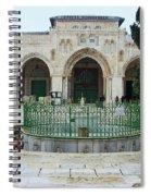 Aqsa Main Arches Spiral Notebook