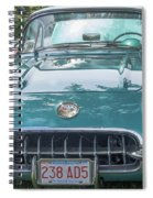 Aqua Blue 1959 Corvette  Spiral Notebook