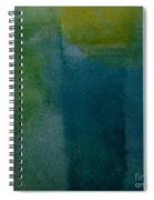 Aqua Blue - Abstract Spiral Notebook