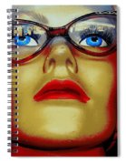 Aqua Eyed Angie Spiral Notebook