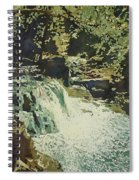 Aqua Falls Spiral Notebook