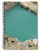 Aqua Gem Spiral Notebook