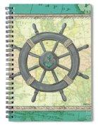 Aqua Maritime Spiral Notebook