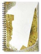 Aqua Metallic Series Together Apart Spiral Notebook