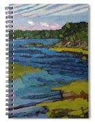 Aqua Spiral Notebook