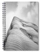 Aqua Tower Spiral Notebook