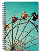 Aquamarine Dream - Ferris Wheel Art Spiral Notebook