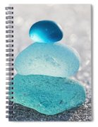 Aquamarine Ice Spiral Notebook