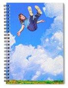 Aquarius Rising Spiral Notebook