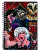 Aquarius Stage Fright Spiral Notebook