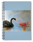 Aqueous Blossom  Spiral Notebook