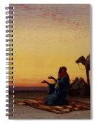 Arab At Prayer Spiral Notebook
