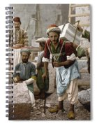 Arab Stonemasons, C1900 - To License For Professional Use Visit Granger.com Spiral Notebook