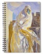 Arab Woman Spiral Notebook