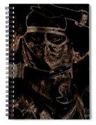 Arabian Face 0901 Spiral Notebook