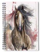 Arabian Horse 2013 10 15 Spiral Notebook