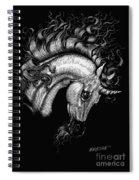 Arabian Unicorn 2 Spiral Notebook