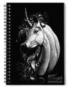 Arabian Unicorn Spiral Notebook