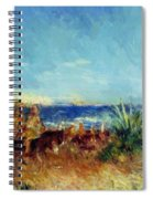 Arabs By The Sea Spiral Notebook