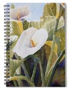 Aram Lillies Spiral Notebook