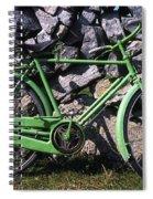 Aran Islands, Co Galway, Ireland Bicycle Spiral Notebook