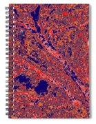 Arboreal Plateau 26 Spiral Notebook