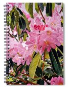 Arboretum Rhododendrons Spiral Notebook