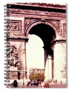 Arc De Triomphe 1955 Spiral Notebook
