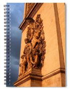 Arc De Triomphe Spiral Notebook