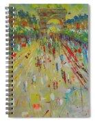 Arc De Triomphe Paris Spiral Notebook