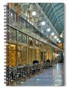 Arcade In Cleveland Spiral Notebook