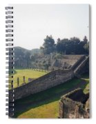 Arcaded Court Of The Gladiators Pompeii Spiral Notebook