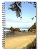 Arcadia Beach Spiral Notebook