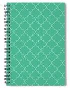Arcadia Quatrefoil Spiral Notebook