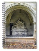 Arch At Fontevraud Abbey  Spiral Notebook