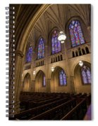Arch In The Chapel Spiral Notebook